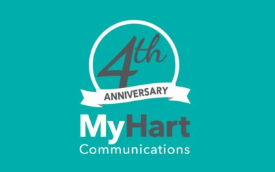 It's MyHart Communications 4th Anniversary!